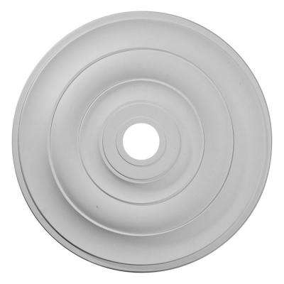 26-1/2 in. x 3-5/8 in. ID x 1-1/2 in. Jefferson Urethane Ceiling Medallion (Fits Canopies up to 5 in.)