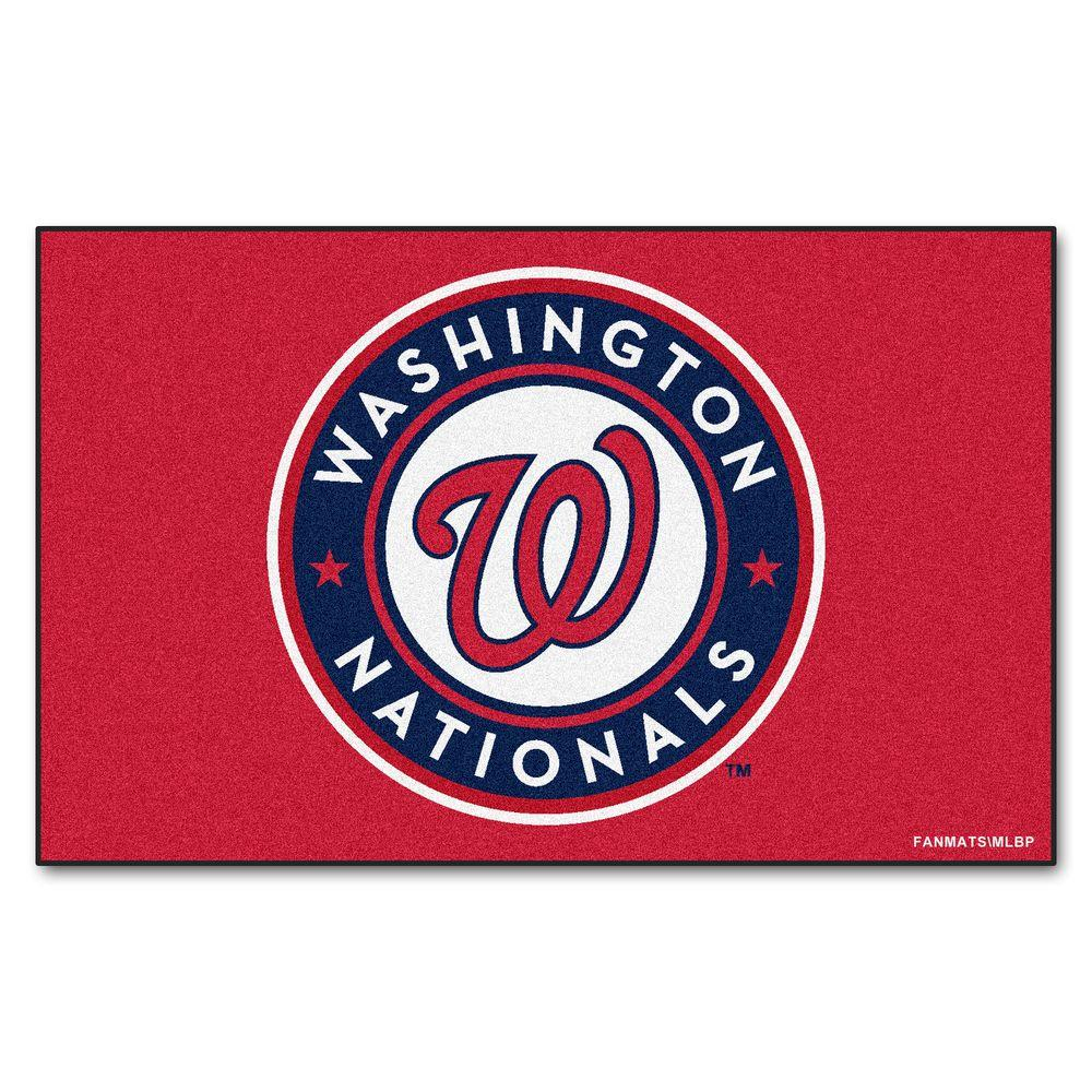 FANMATS Washington Nationals 5 ft. x 8 ft. Ulti-Mat