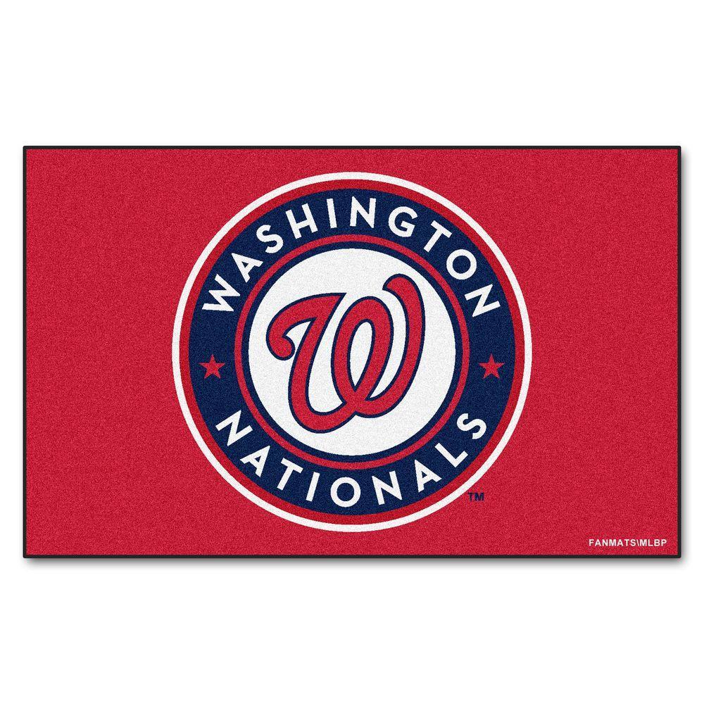 Washington Nationals 5 ft. x 8 ft. Ulti-Mat