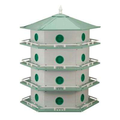 24 Room Deluxe Aluminum Purple Martin House