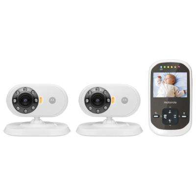 MBP25-2 2.4 in. Digital Video Baby Monitor with Two Cameras