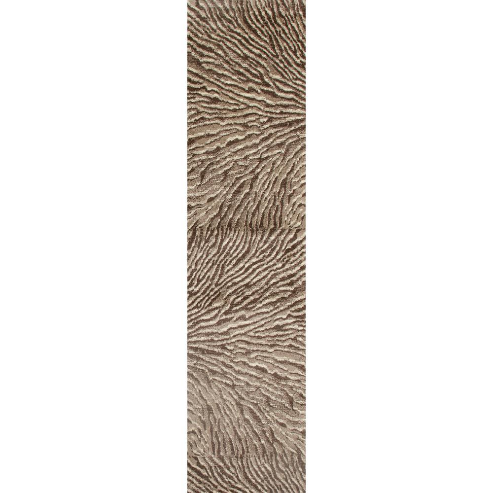 Troy Ripple Beige 2 ft. x 8 ft. Runner Rug