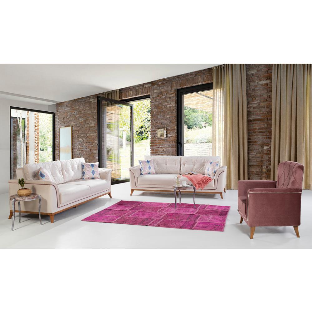 Terra Cream Sofa by