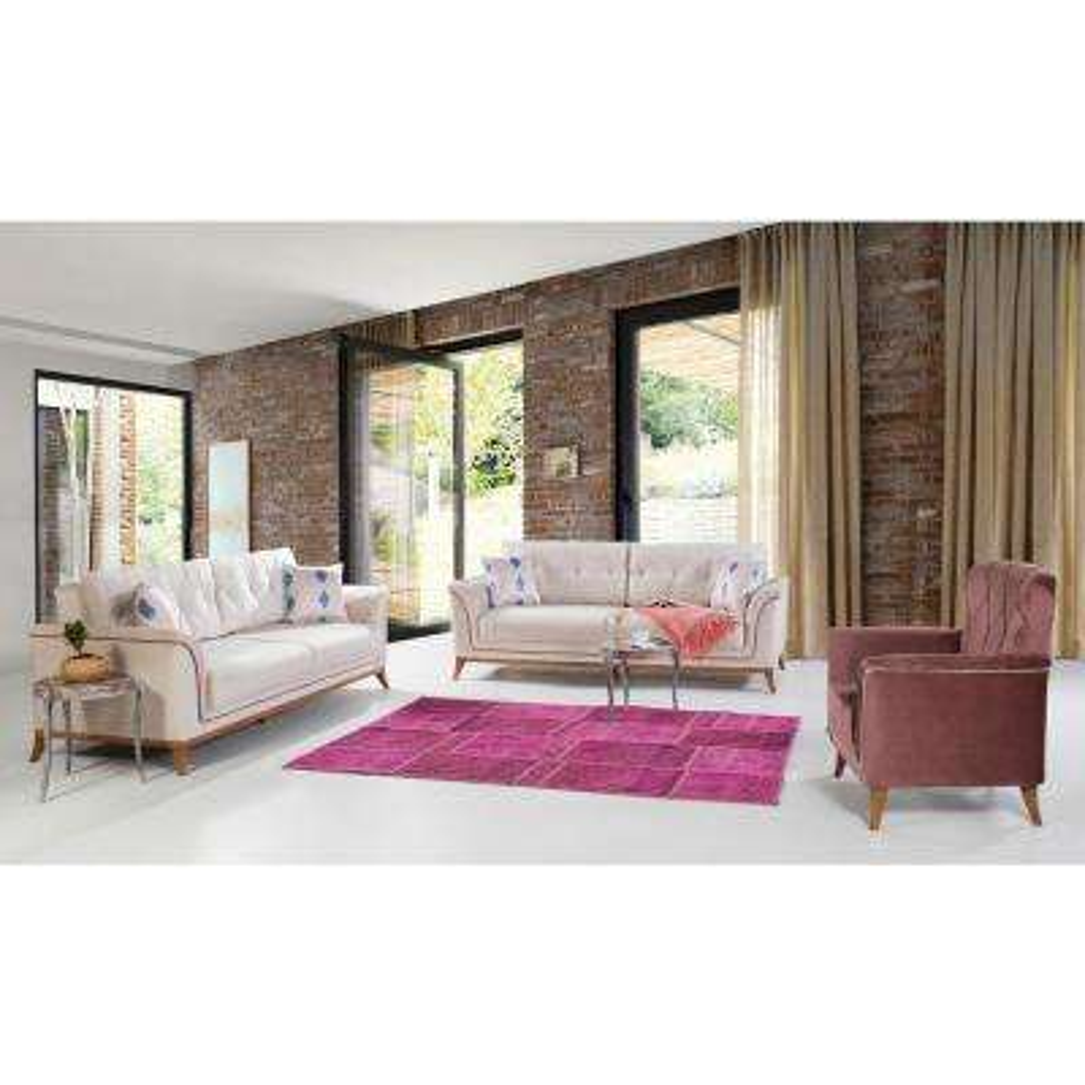 Terra Cream Sofa