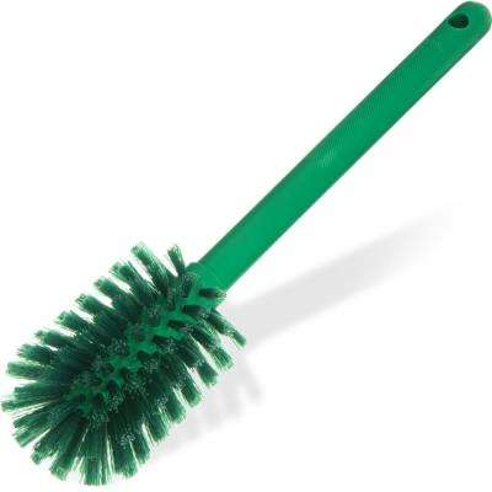 Sparta 12 in. Polyester Bottle Brush in Green (6-Pack)