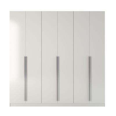 Eldridge White High Gloss Armoire