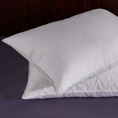 Puredown White Goose Feather and Down Pillow in Standard (Set of 2)