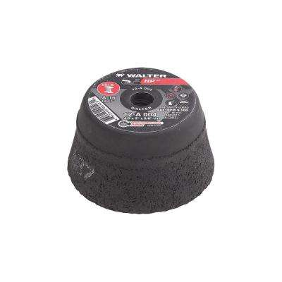 HP Cup Wheel 4 in. x 5/8-11 in. Arbor
