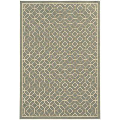 Sand Gray 5 ft. x 8 ft. Area Rug