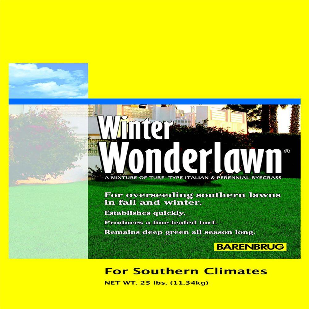 Winter Wonderlawn Grass Seed23065  The Home Depot
