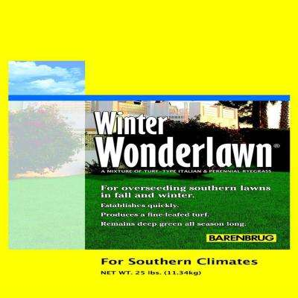 25 lb. Winter Wonderlawn Grass Seed