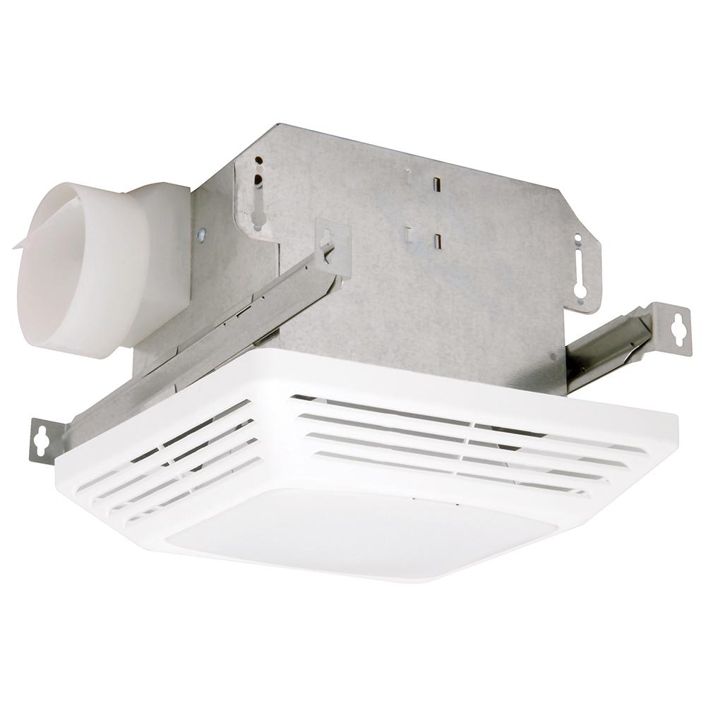 Air Exhaust Fans : Nutone heat a vent cfm ceiling exhaust fan with