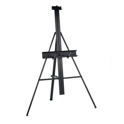 Premier 41 in. W x 27 in. D x 57 in. H Artist Height Adjustable Display Easel with Tilt