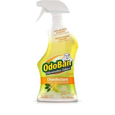 32 oz. Ready-To-Use Citrus Scent Disinfectant Air and Fabric Refresher