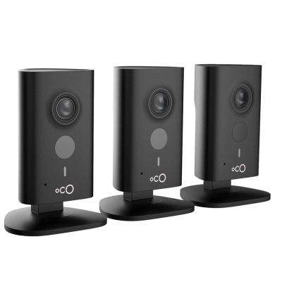 HD 960p Indoor Video Surveillance Security Camera with SD Card, Cloud Storage, 2-Way Audio and Remote Viewing (3-Pack)