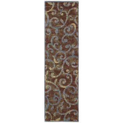 Expressions Multi 2 ft. 3 in. x 8 ft. Rug Runner
