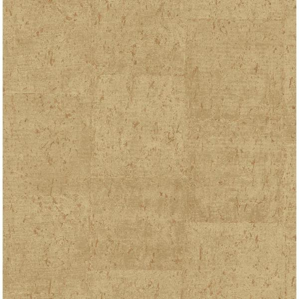 Fine Decor Jules Light Brown Faux Cork Wallpaper Sample