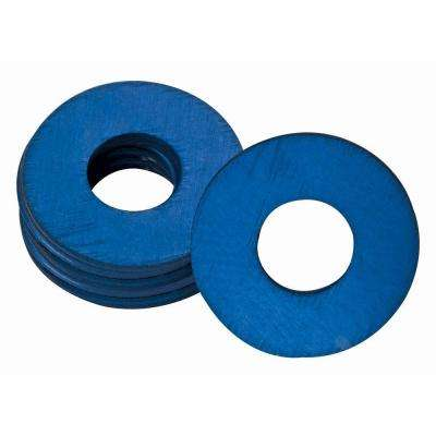 UltraView 1/4 in. x 28 in. Grease Fitting Washers in Blue (25 per Bag)