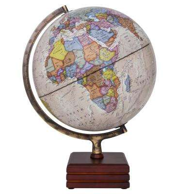 Horizon II Illuminated 12 in. Desktop Globe