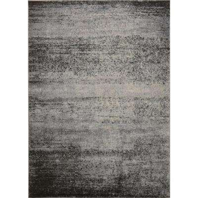 Azure Gray/Beige 5 ft. x 7 ft. Indoor Area Rug