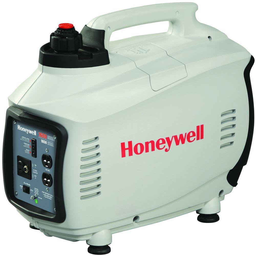 Honeywell 1,600-Watt Gasoline Powered AC Power Inverter
