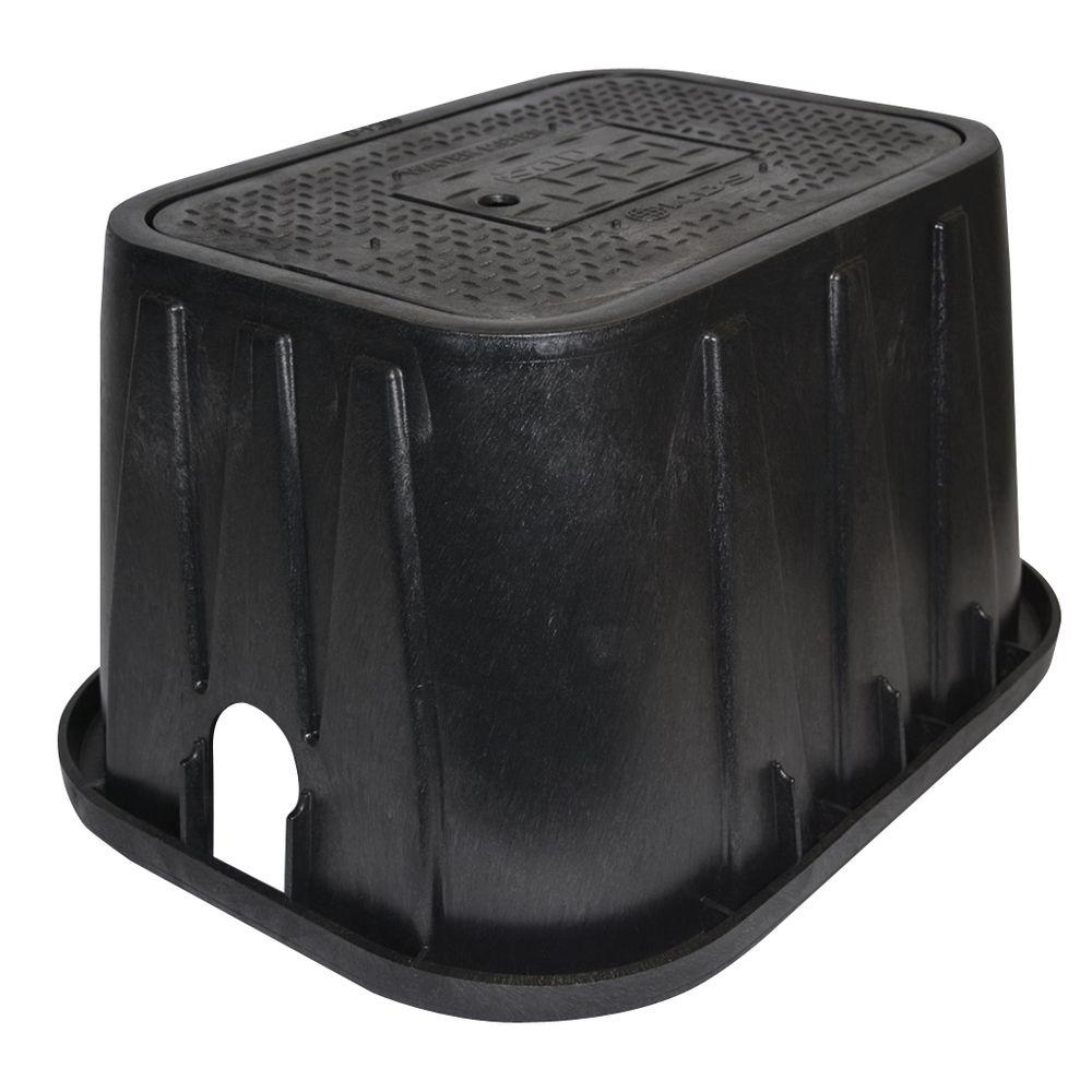 NDS 14 in. x 19 in. x 12 in. Meter Box and Plastic Drop-I...