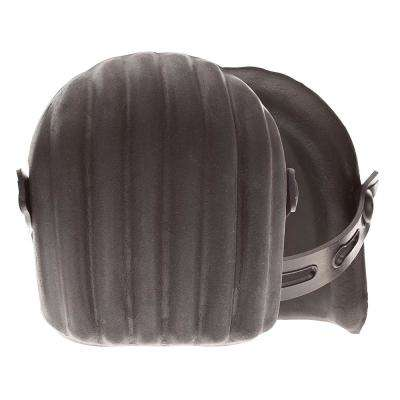 Black Molded Rubber Knee Pads