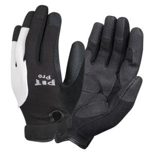 Cordova PIT PRO Mechanics Style Large Work Glove Black Synthetic Leather Palm... by Cordova