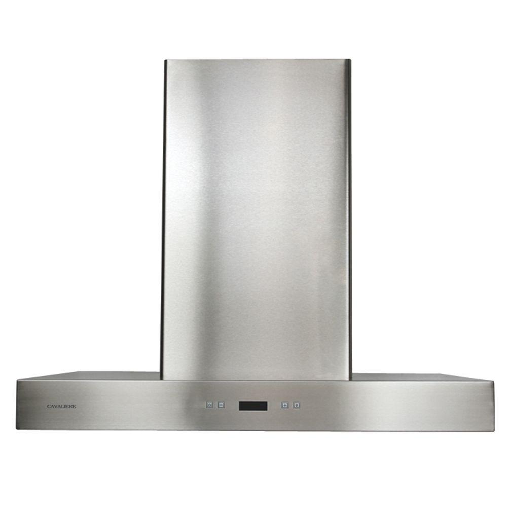 Cavaliere 42 In Convertible Range Hood Stainless Steel