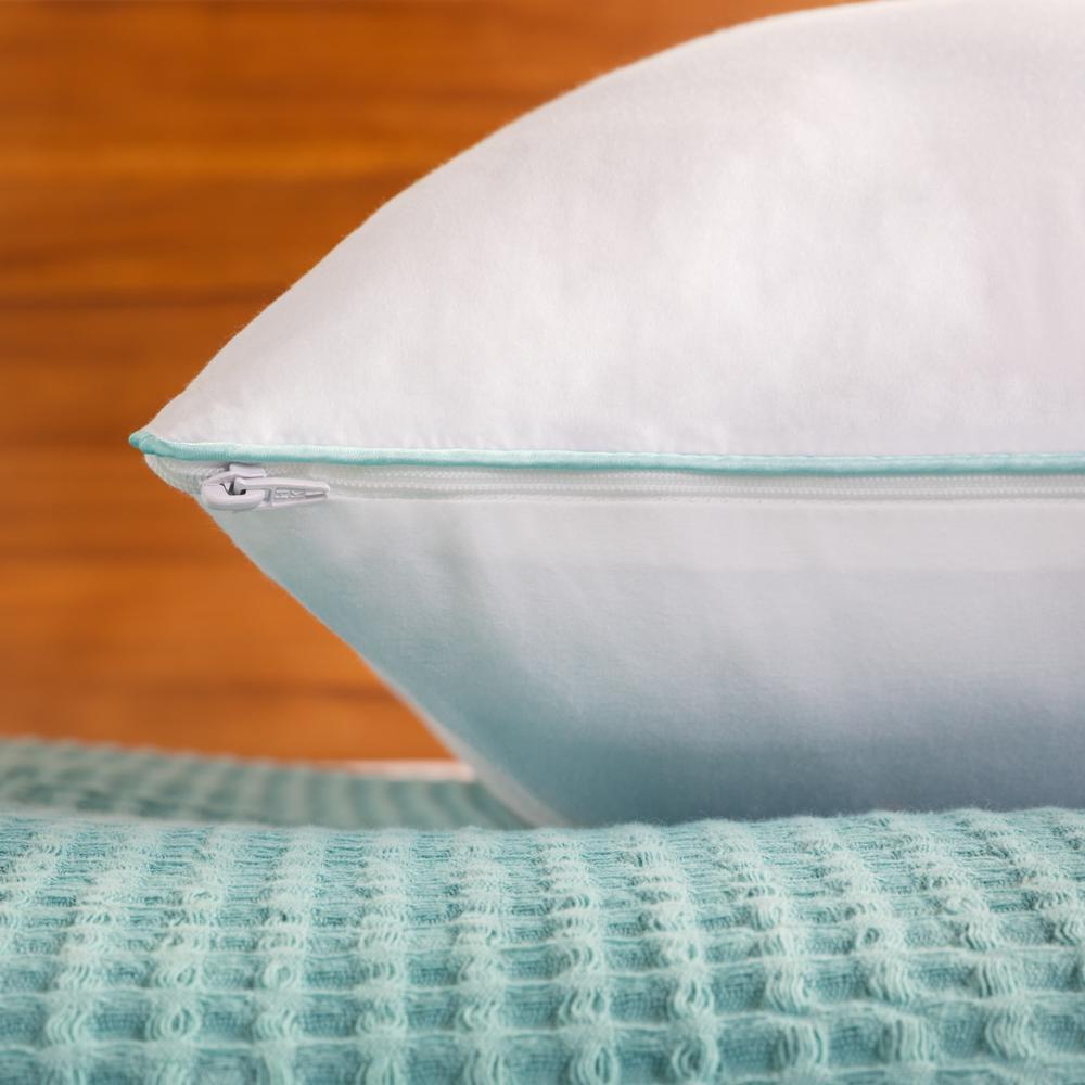 Shredded Memory Foam Pillow with Gel Memory Foam Layer- Queen
