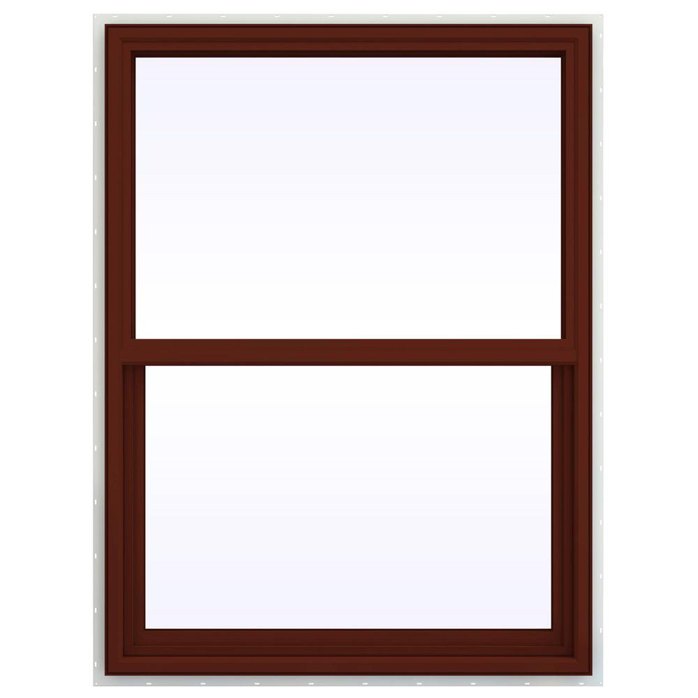 35.5 in. x 41.5 in. V-4500 Series Single Hung Vinyl Window