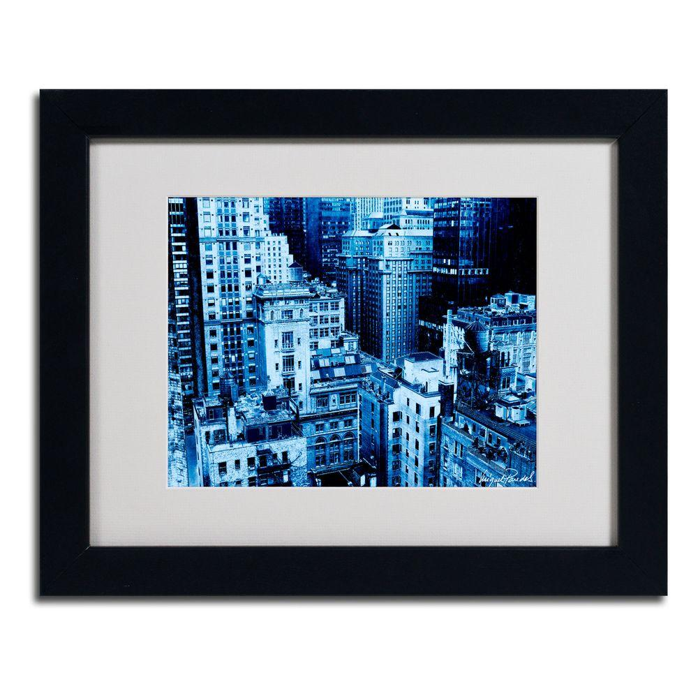 Trademark Fine Art 11 in. x 14 in. Upper West Side Matted Framed Art