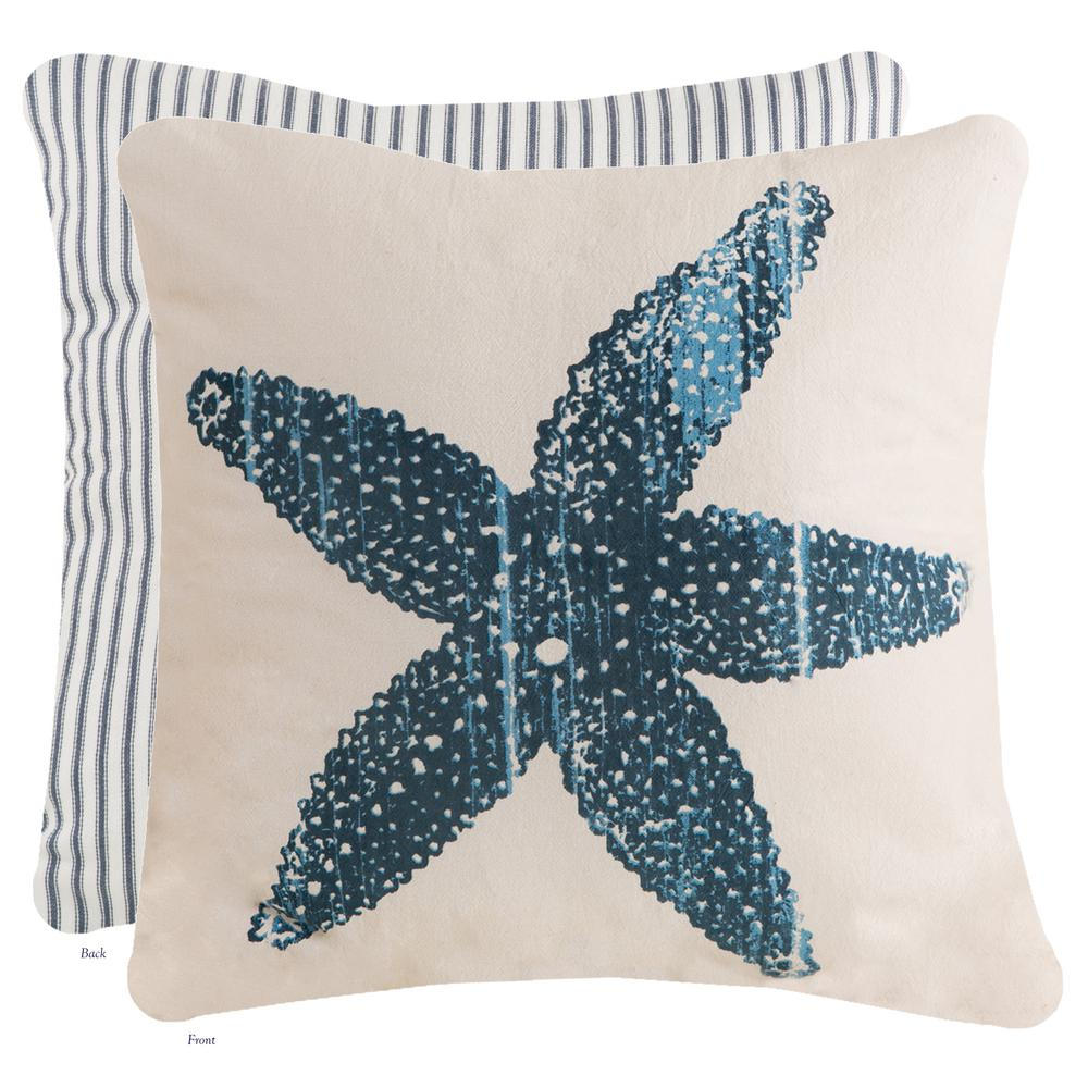 Heritage Lace Beach Living 18x18 Pillow Cover BL013-PC