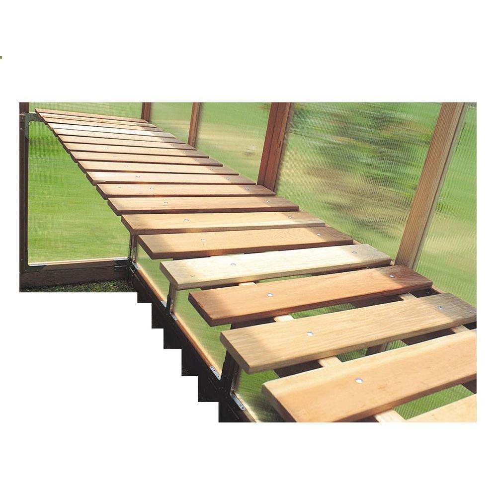 Sunshine Gardenhouse Bench kit for GKP612 GreenhouseGKP612BENCH
