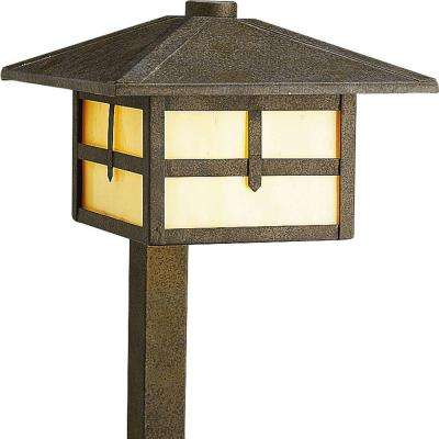 Low-Voltage 18-Watt Weathered Bronze Landscape Path Light