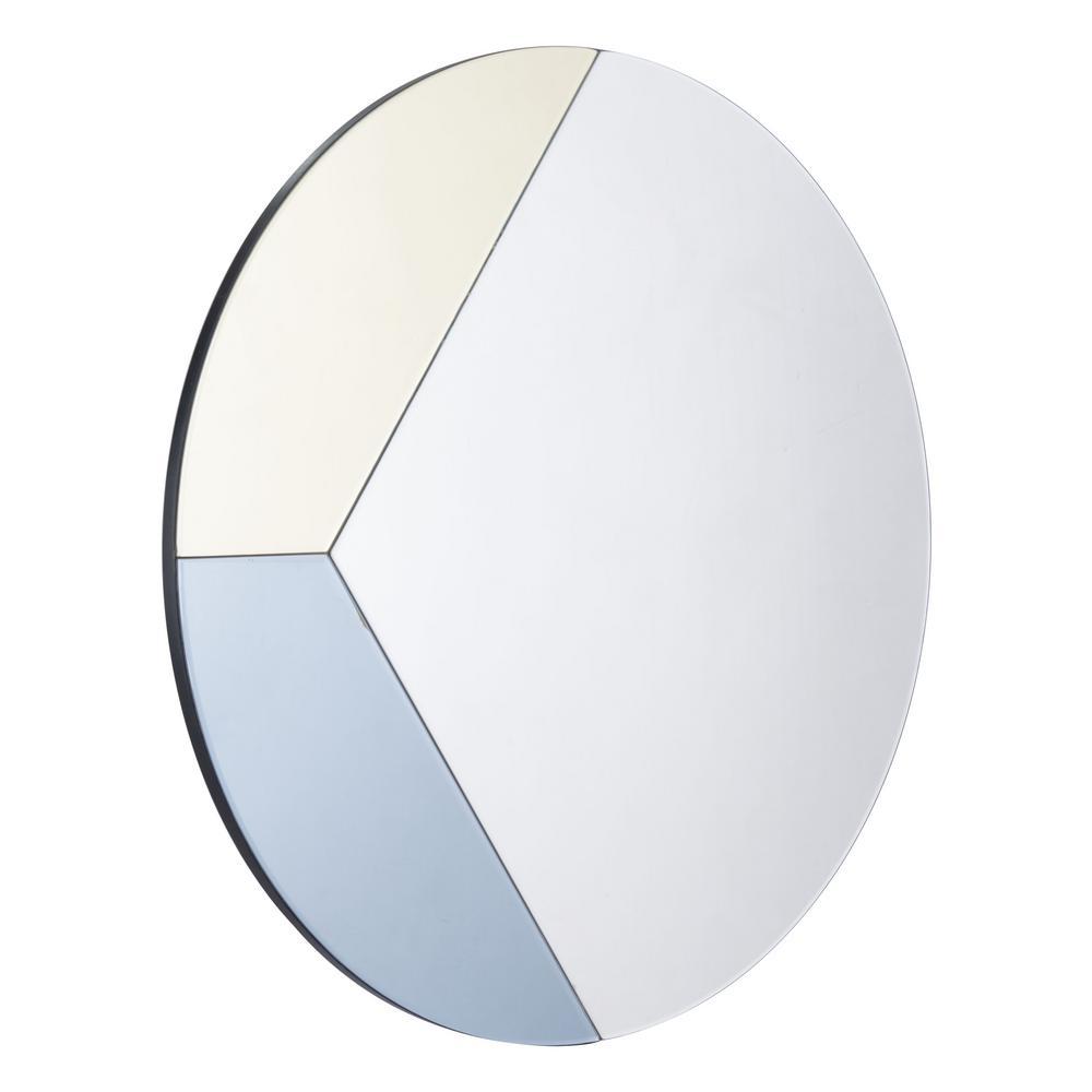 Tini Multicolor Round Wall Mirror