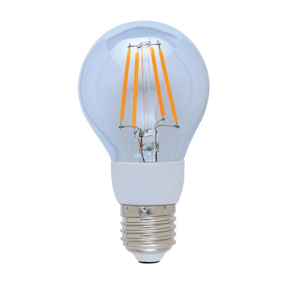 60W Equivalent White A-19 12-Hour Timer LED Light Bulb
