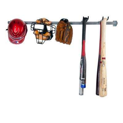 51 in. L Large Baseball Rack