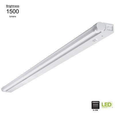 Beam Adjustable 42 in. LED Linkable Under Cabinet Light with Dim to Warm Feature (Direct Wire or Plug-In)