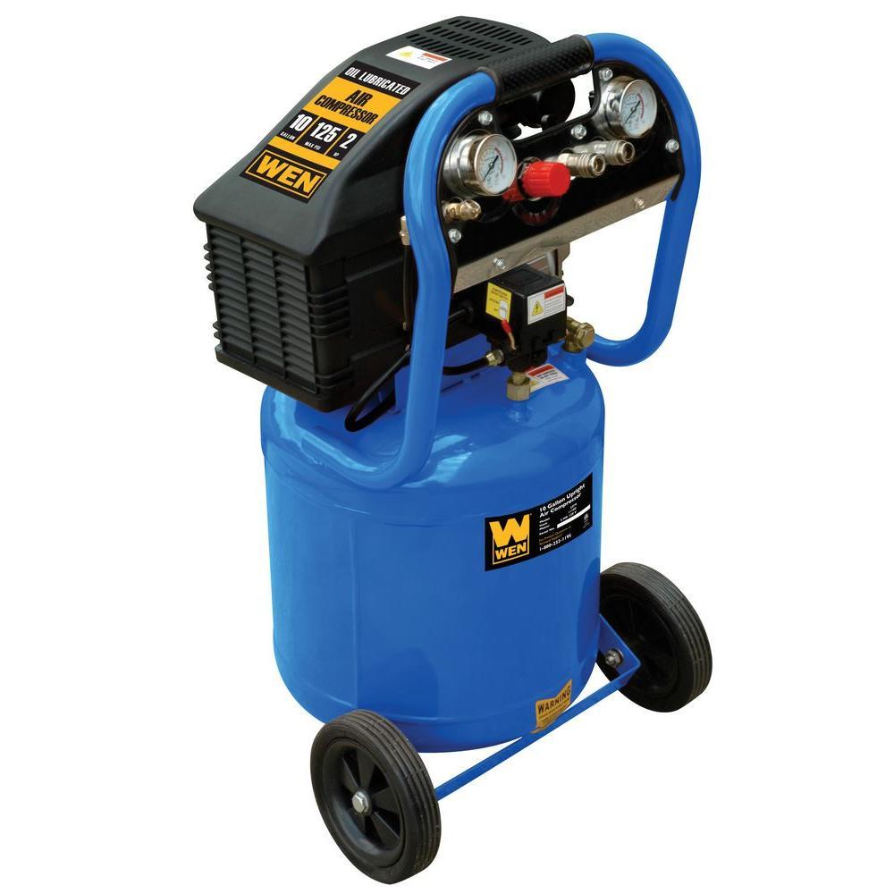 WEN 10 Gal. Portable Electric Air Compressor