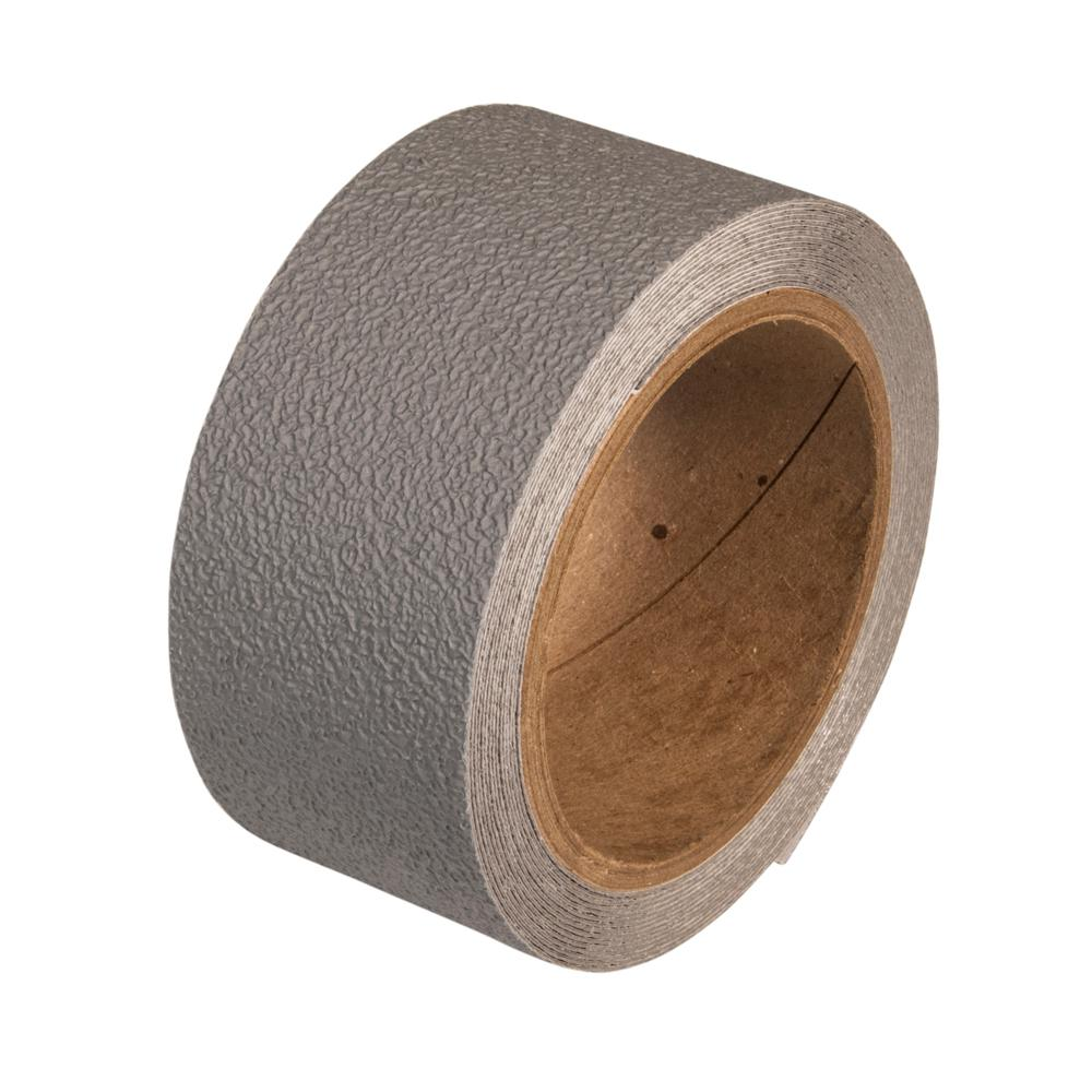 2 in. x 5 yds. Gray Anti-Slip Safety Tape