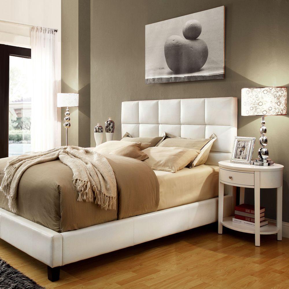 Calais 3-Piece White Queen Bedroom Set