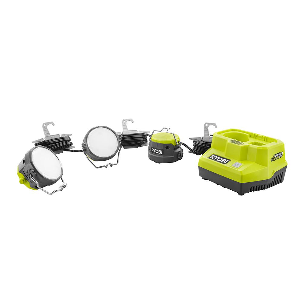 RYOBI Hybrid ONE+ Cordless LED Cable Lights (Tool Only)