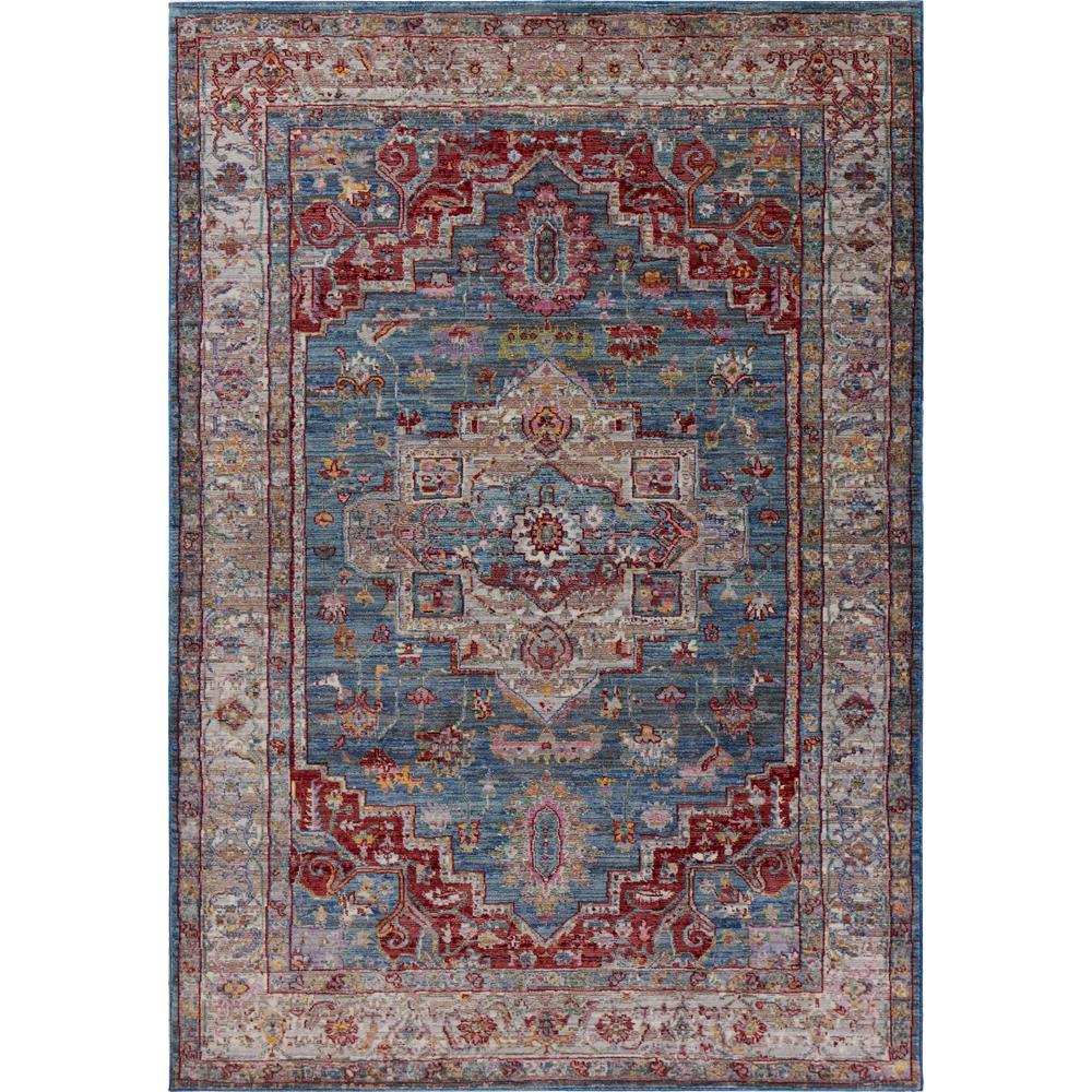 Kas Rugs Ashton Blue/Grey Taylor 8 ft. x 10 ft. Area Rug was $275.7 now $151.64 (45.0% off)