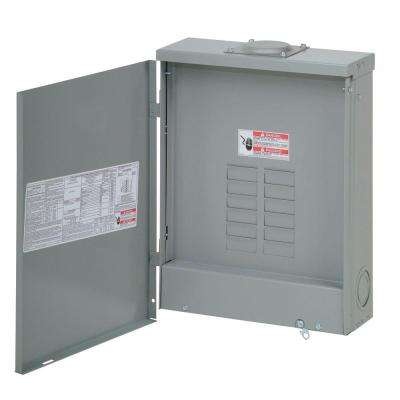 BR 200 Amp 12 Space 24 Circuit Outdoor Main Lug Loadcenter with Cover