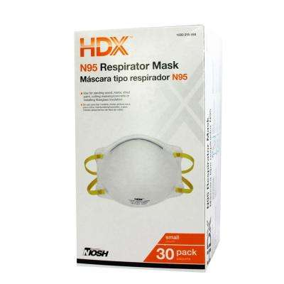 N95 Disposable Respirator Small Box (30-Pack)