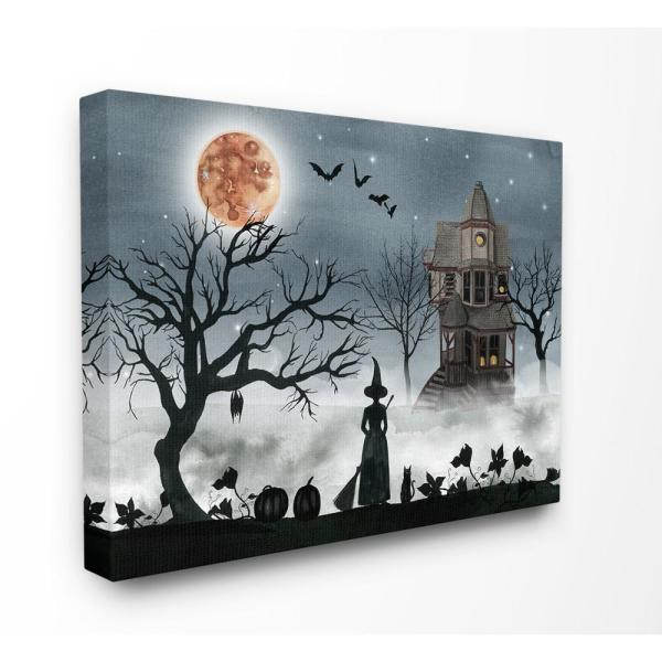 "Halloween Night 16/""x24/"" HD Canvas prints Painting Home Decor Picture Wall art"