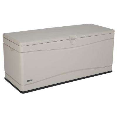 130 Gal. Heavy-Duty Outdoor Storage Deck Box