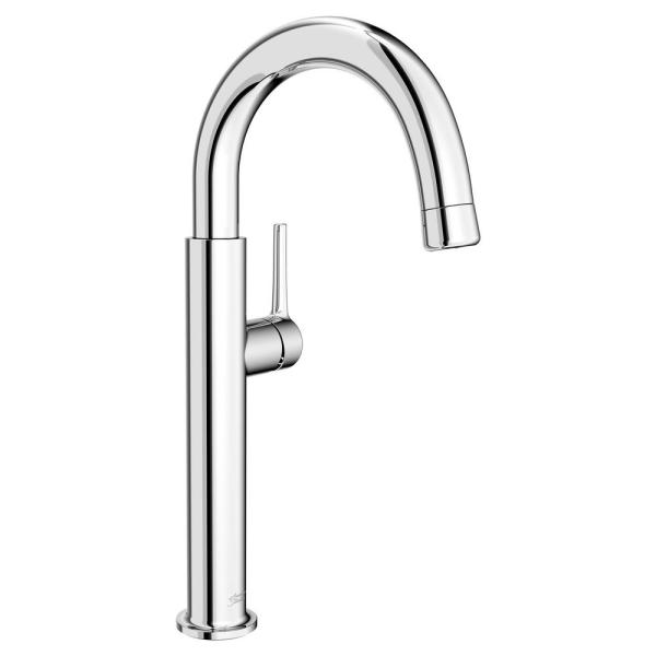 Studio S Single-Handle Bar Faucet with Pull Down Spray Handle in Polished Chrome