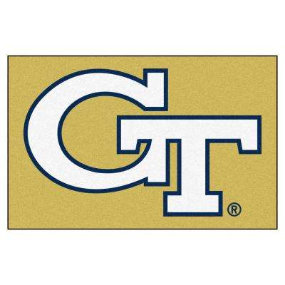 Georgia Tech 1 ft. 7 in. x 2 ft. 6 in. Accent Rug